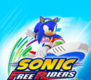 Sonic Free Riders box artwork