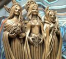 Triple Goddess Statue
