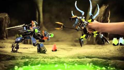 LEGO® Hero Factory - Combat Machine vs Queen Beast