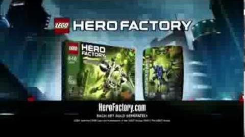LEGO® Hero Factory Brain Attack - Jet Rocka vs Dragon Bolt TV Commercial