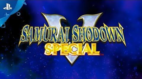 SAMURAI SHODOWN V SPECIAL - TEASER PS4