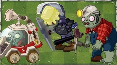 Plants vs Zombies 2 - 3 NEW MODERN DAY ZOMBIES Explosive Police & Solar Car Zombie + 1ST GAMEPLAY