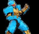 Robo Rider and Ninja Bull Zords