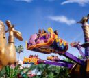 The Magic Carpets of Aladdin