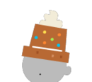 2017 Gingerbread Hat