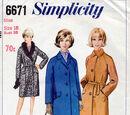 Simplicity 6671 A