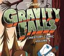 Gravity Falls Cinestory Comic Volume 4