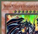 Dragón Metálico de Oscuridad de Ojos Rojos