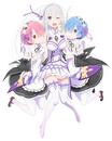 Emilia con Ram y Rem.png