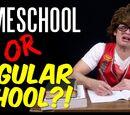 "Homeschool vs. ""Regular School"""