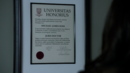 Mike's Harvard Diploma (3x01).png