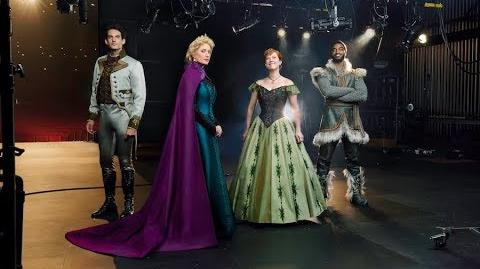 FROZEN The Musical Costume First Look
