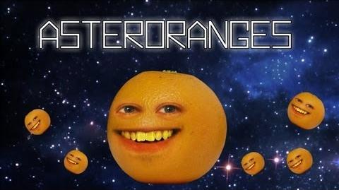 Annoying Orange - Asteroranges (Asteroids Video Game Spoof!)