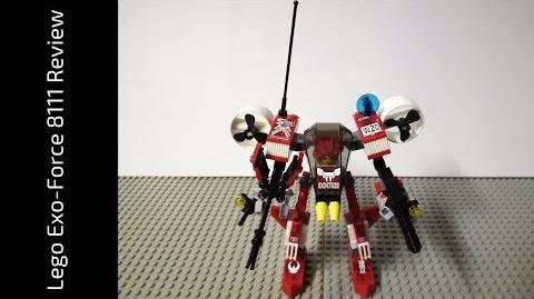 Lego Exo-Force 8111 River Dragon Review (HD)