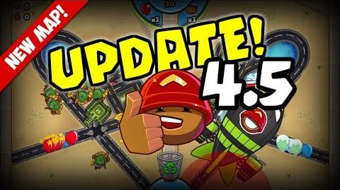 NEW UPDATE 4.5! Sneak Peek of New Map, Hold to Send, and more! Bloons TD Battles