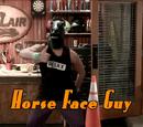 Horse Face Guy