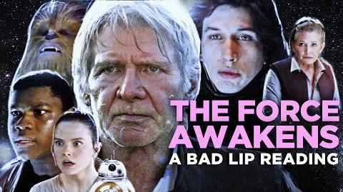 """""""THE FORCE AWAKENS A Bad Lip Reading"""" (Featuring Mark Hamill as Han Solo)"""