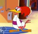 Donald and the Aracuan Bird