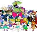 Characters hailing from the Rugrats Universe