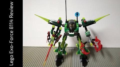 Lego Exo-Force 8114 Chameleon Hunter Review (HD)