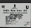 Central Board of Film Censors/Certification (India)
