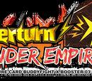 X Booster Set 3: Overturn! Thunder Empire!