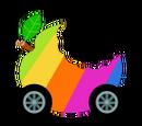 Rainbow Apple Kart