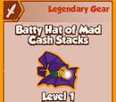 Batty Hat of Mad Cash Stacks