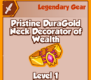 Pristine DuraGold Neck Decorator of Wealth