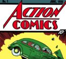 Action Comics Vol 1