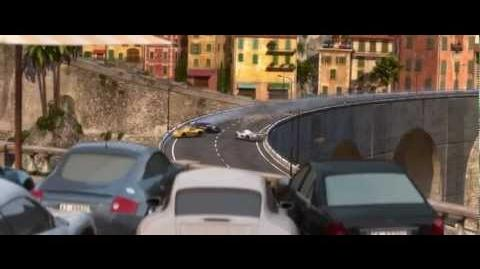 Cars 2 - Crash Scene