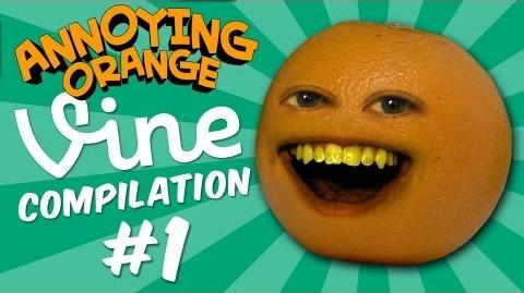 Annoying Orange Vine Compilation Part 1- Bacon Strips and Twerky Jerky