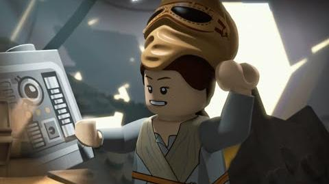 LEGO Star Wars: Resistance Rises: Rey Strikes Back