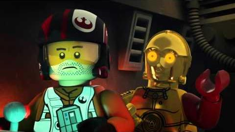 LEGO Star Wars: Resistance Rises: Poe to the Rescue