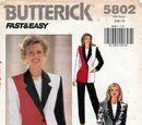 Butterick 5802 B