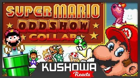 Kushowa Reacts to The Super Mario Oddshow Collab