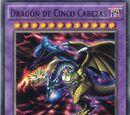 Dragón de Cinco Cabezas