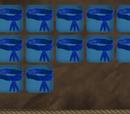 Blue Feather Belt