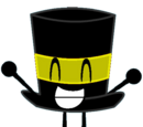 Dark Yellow Top Hat