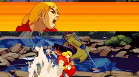 (Demo) X-MEN VS. ストリートファイター X-Men Vs. SF (C)Capcom 1996