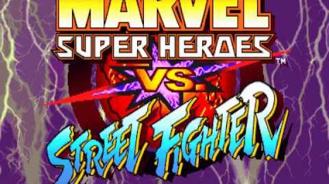 (Demo) マーヴル VS. ストリートファイター MSH Vs. SF (C)Capcom 1997