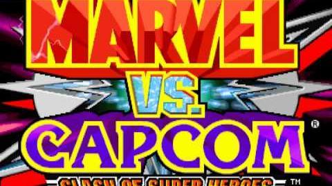 (Demo) マーヴル VS. カプコン Marvel Vs. Capcom (C)Capcom 1998