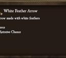 White Feather Arrow