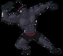 Muscular Black Hat