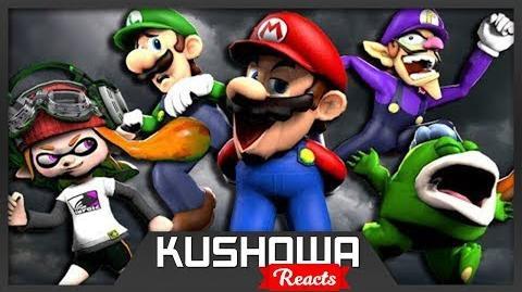Kushowa Reacts to The Mario Channel: MARIO'S CHALLENGE