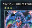 Número 71 Tiburón Rebarian