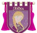 Anna Tasseled Banner Pin (2017)