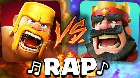 ¡Clash of Clans VS Clash Royale! RAP - -AdryBrix-Antrax- ☣