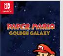 Paper Mario Golden Galaxy