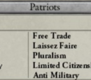 Liberal parties